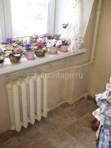 Пример фото старого радиатора