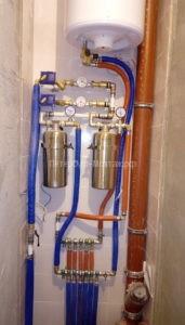 Коллектор водоснабжения в квартире