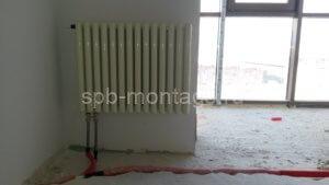 После переноса выводов под радиатор