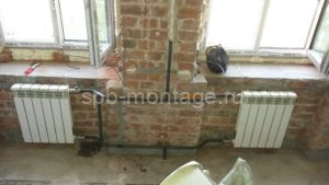 Замена радиаторов отопления старый фонд